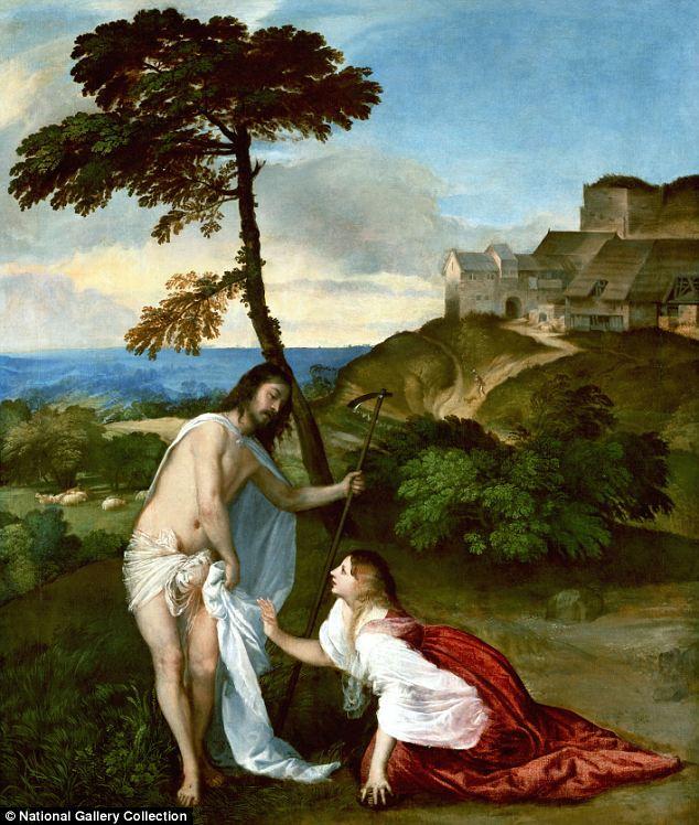 Junge Jesus Christus, der Geschlecht hat Haar