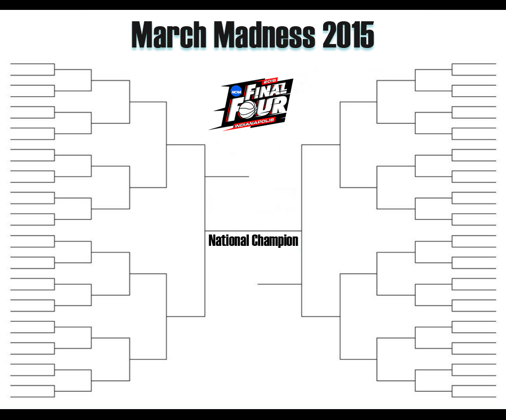 graphic regarding Yahoo Printable Bracket named NCAA Basketball: March (However No) Insanity. (And No Females